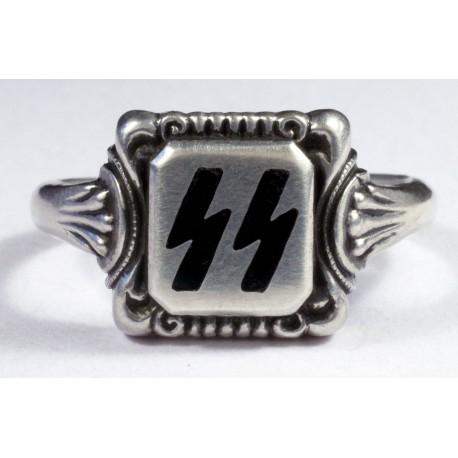 WW II Vācu SS sudraba gredzens