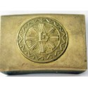 LATVIA , LATVIJA  MILITARY BELT BUCKLE KRUM RIGA