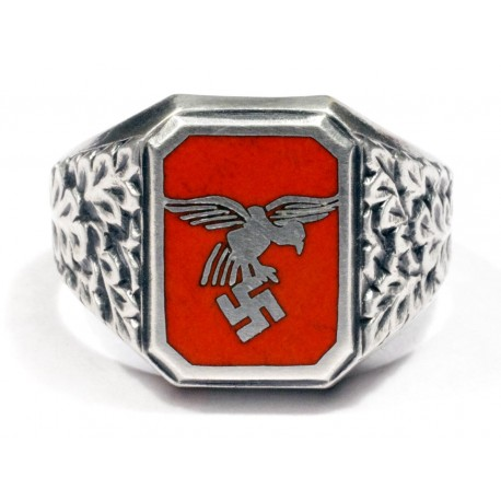 German WWII Luftwaffe Flieger's ring