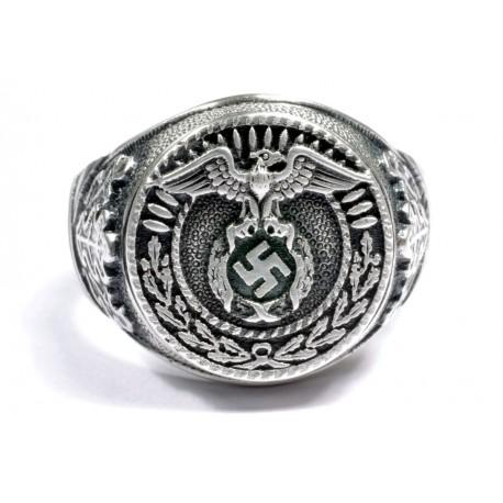 NSDAP SA sterling silver ring