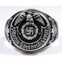 WW II German silver ring.