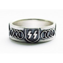 WW II German SS silver ring
