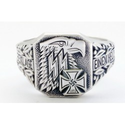 WW II German sterling silver ring