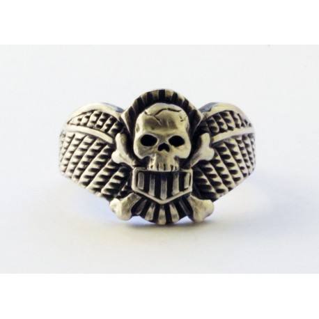 German Ring with Skull