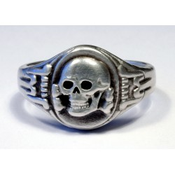 WW II Ring with Skull