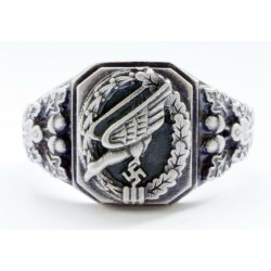 German WW II Luftwaffe Paratrooper ring