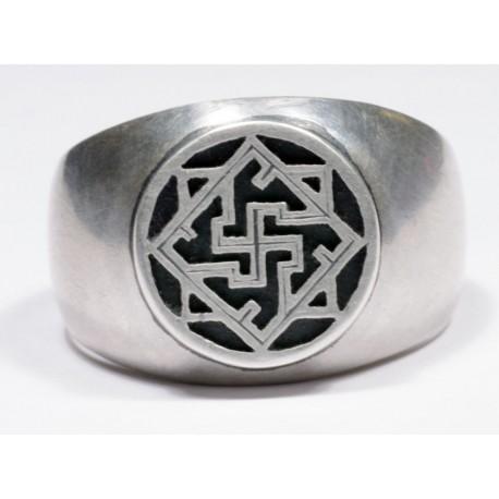 WW II German silver ring.