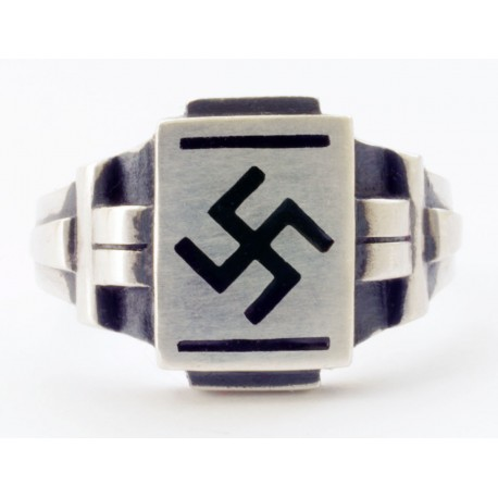 Gredzens ar svastiku NSDAP