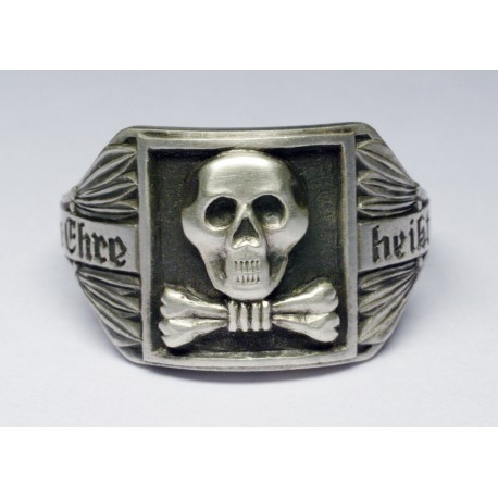 German WWII skull ring