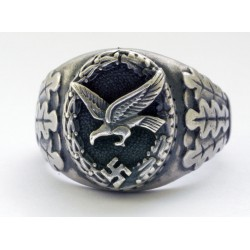 German WWII Luftwaffe Air Gunner Ring