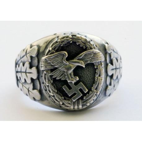German WW II Luftwaffe Observers ring