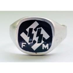 Fordernde Mitglieder der Deutsche silver ring