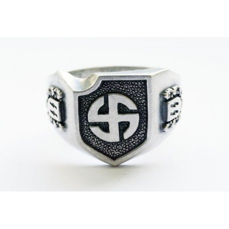WW II German Waffen SS Wiking division ring