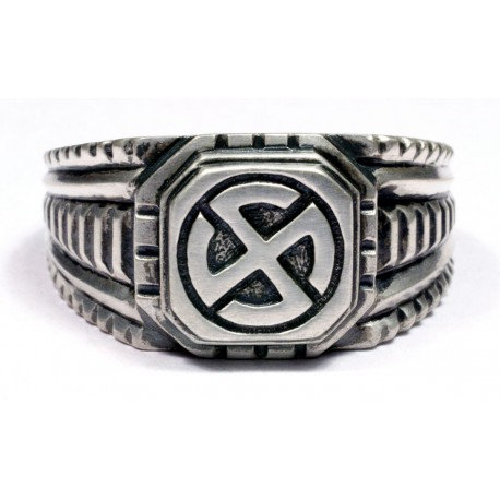 Hakenkreuz or Swastika ring Sterling silver Wiking