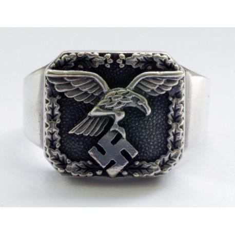 Vācu WWII Luftwaffe Novērotāji gredzens