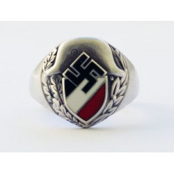 World War II German silver ring