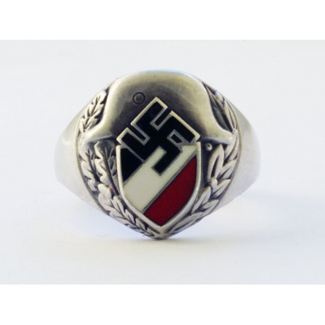 World War II German silver ring