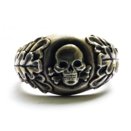 German skull ring