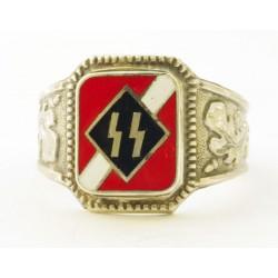WWII vācu sudraba gredzens