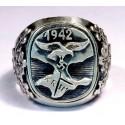 Серебряное немецко - нацистское кольцо кампании Крым Люфтваффе