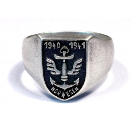 WW2 Norwegian Volunteer ring