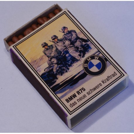 Vintage Full German Propaganda Matchbox