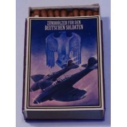 Vintage Full German Propaganda Matchbox