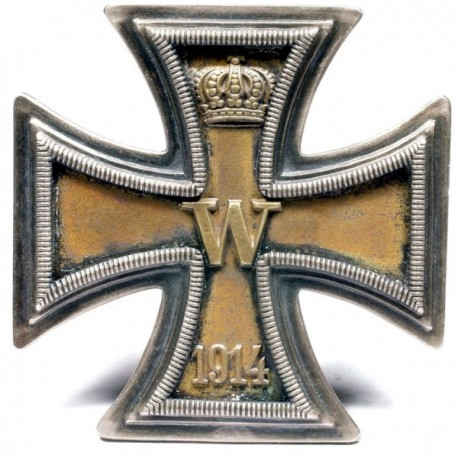 1 Klases Dzelzs Krusts 1914.