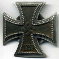 SCREW-BACK 1939 IRON CROSS 1st CLASS