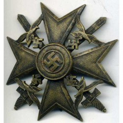 Condor Legion Spanish Cross Bronze Grade With Swords.
