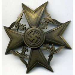 CONDOR LEGION SPANISH CROSS BRONZE GRADE.