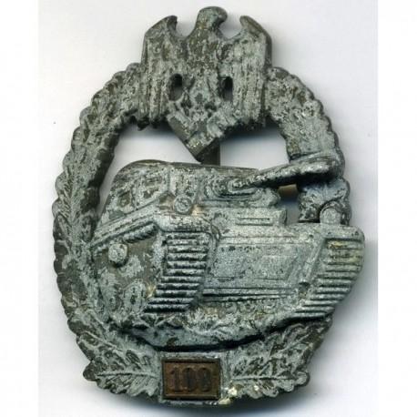 German Nazi 100 engagement Panzer Assault badge