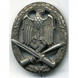 WW2 German General Assault silver badge