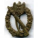 """Бронзовый значок немецкой армии """"Нападение пехоты"""""""