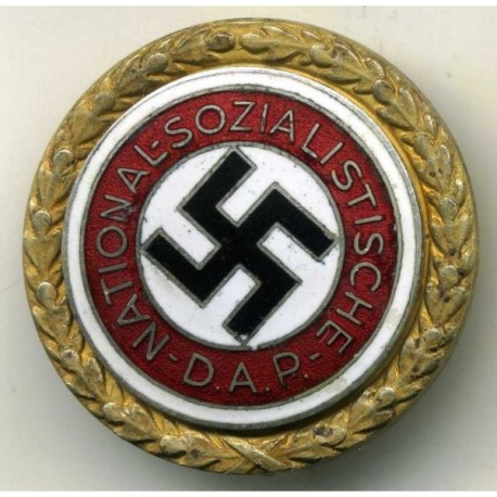 The Golden Party Badge of the Third Reich