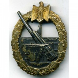 WW2 GERMAN COASTAL ARTILLERY BADGE