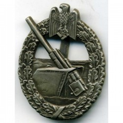 WWII German Coast Artillery Badge