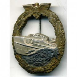 The Kriegsmarine E-Boat Badge, 1st Pattern