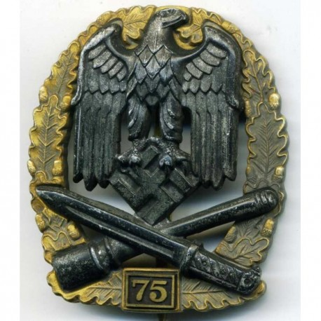 WW2 German General Assault badge 75