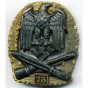 WW2 vācu generāļa Assaulta žetons 75