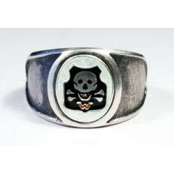 WWII GERMAN WEHRWOLF ELITE COMMANDOS RING