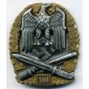 WW2 vācu generāļa Assaulta žetons 100