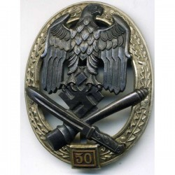 WW2 German General Assault badge 50