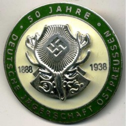 German East Prussia Hunting Association Member Badge