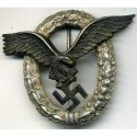 German WW2 Luftwaffe Pilots Badge.