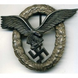 German WW2 Luftwaffe Pilots Badge