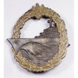 WWII German Kriegsmarine Destroyer Badge