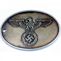 WW2 German Gestapo Warrant disc