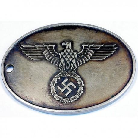 WW2 German Gestapo Warrant disc