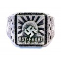 World War II - Ostfront soldiers silver ring.